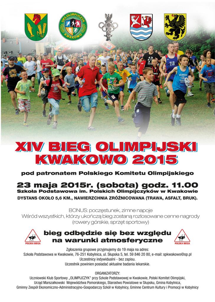 bieg olimpijski 2015 plakat A3-03