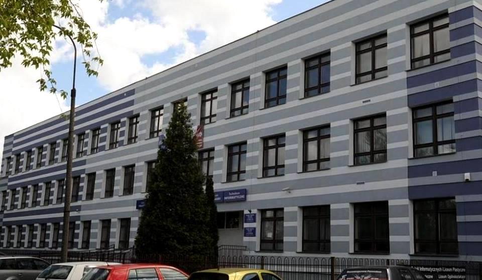 Budynek ZSI w Słupsku przy ul. Koszalińskiej