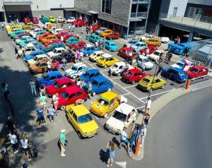 Maluchy z calej Polski parkingGeminiPark BielskoBiala